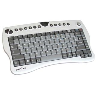 Perixx Mini-Tastatur mit Funk USB Anschluss -- Italienisches