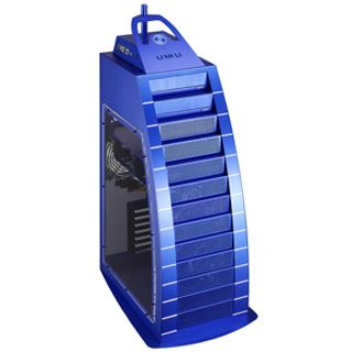 ATX Lian Li PC-888 Window Edition Big Tower o.NT Blau