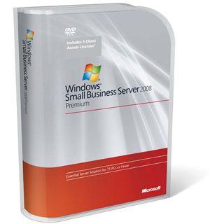 Microsoft Windows Small Business Server 2008 Premium 64 Bit Deutsch