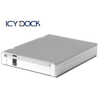 "3.5"" (8.89cm) Icy Dock MB-559UEB-1S SATA -> USB/ Firewire Weiß"