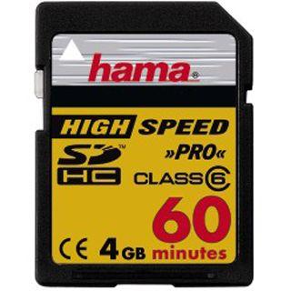 4 GB Hama Video SDHC Class 6 Bulk