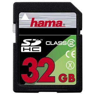 32 GB Hama Standard SDHC Class 2 Bulk