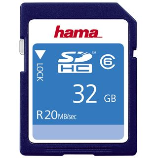 32 GB Hama High Speed Pro SDHC Class 6 Retail