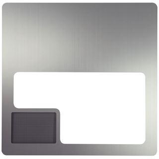 Lian Li silbernes Seitenteil mit Fenster und Mesh für PC-V2000