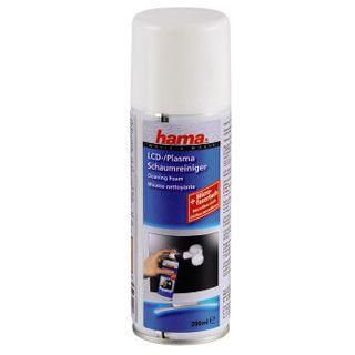 Hama LCD-/Plasma Schaumreiniger mit Mikrofaser-Reinigungstuch,