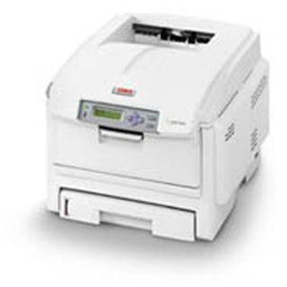 OKI C5850n Laser Farb Drucker 1200x600dpi LAN/USB2.0