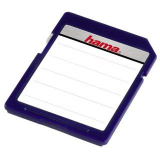 Hama Speicherkarten-Etiketten SD/MMC, 18 Stück, farblich sortiert