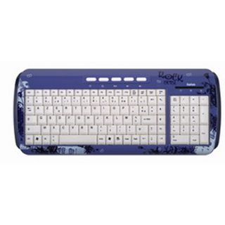 Saitek Expression Rock Chick Tastatur Blau Deutsch USB