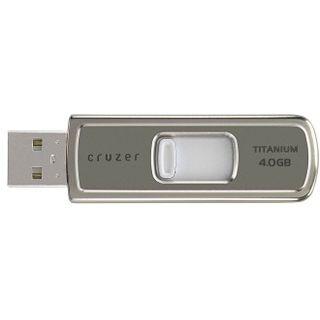 4GB SanDisk Cruzer Titanium USB 2.0