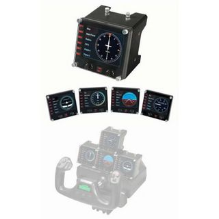 Saitek Pro Flight Instrument Panel USB schwarz PC