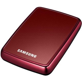 "500GB Samsung S2 Portable 2.5"" (6.35cm) Rot USB2.0"