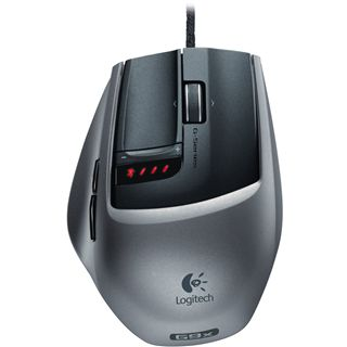 Logitech G9x USB schwarz/silber (kabelgebunden)