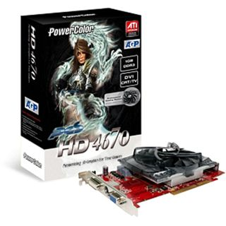 1024MB PowerColor Radeon HD 4670 GDDR3 AGP BULK