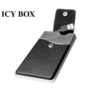 "2,5"" (6,35cm) ICY BOX IB-281StU SATA -> USB 2.0 Schwarz"