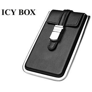 "2.5""(6,35cm) Icy Box IB-283StU-B SATA USB 2.0 Schwarz"