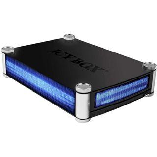 """3,5""""(8,89cm) Icy Box IB-380StUS2-B SATA -> USB Schwarz"""