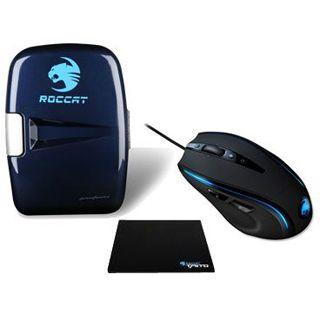 Roccat Kone Mouse + Taito Mousepad + Roccat Fridge