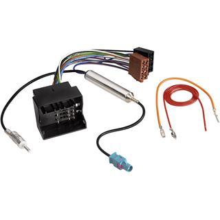 Hama Kfz-DIN-Adapter mit Phantomeinspeisung für AUDI und VW