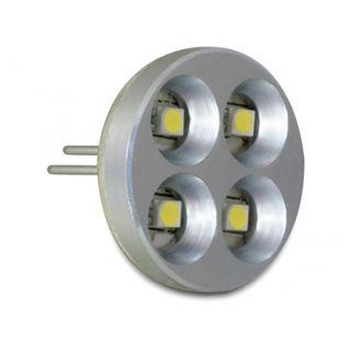Delock LED G4 4x SMD 1,8W warmweiss Pins hinten