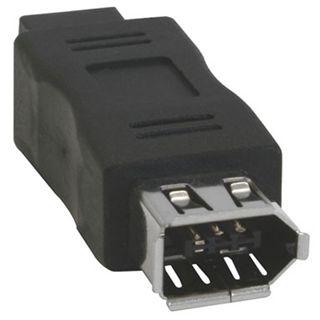 InLine FireWire Adapter, 6pol Buchse/9pol Stecker , 6pol