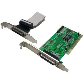 LogiLink PC0014 2 Port PCI zweites Slotblech retail