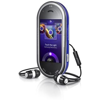 Samsung M7600 BeatDJ splash-blue
