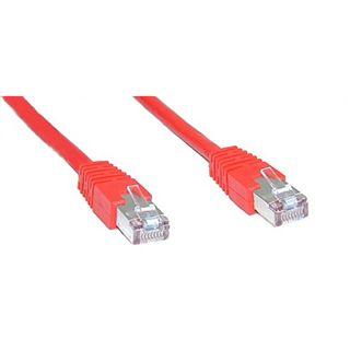 (€3,45*/1m) 2.00m InLine Cat. 6a Patchkabel S/FTP PiMF RJ45 Stecker auf RJ45 Stecker Rot halogenfre