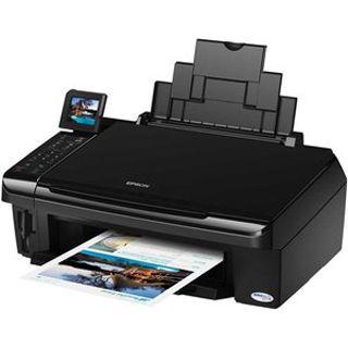 Epson Stylus InkJet SX515W Multifunktion Tinten Drucker 5760x1440dpi WLAN/LAN/USB2.0