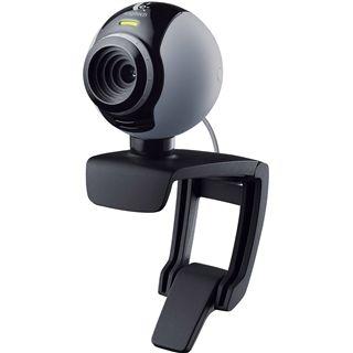 Logitech Web Kamera C250 QuickCam 0.3 MPixel 640x480 Schwarz USB 2.0