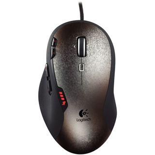 Logitech G500 Gaming Mouse USB anthrazit/silber (kabelgebunden)
