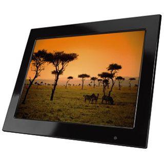 """15,0"""" (38,10cm) Hama Digitaler Fotorahmen Premium 90921 1,024x768 1024MB Schwarz"""