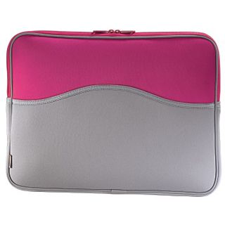Hama Notebook-Cover Memory 15,4 Grau/Pink