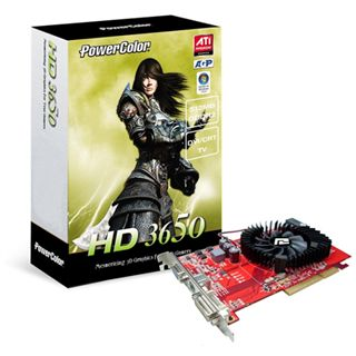 1024MB Powercolor Radeon HD 3650 DDR2 AGP