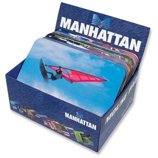 Manhattan Designer Mauspad 20er-Pack 240 mm x 190 mm