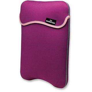Manhattan Notebook Sleeve 12.1 reversibel purple/cream