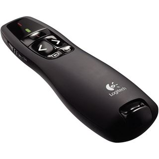 Logitech Wireless Presenter R400 2.4 GHz schwarz