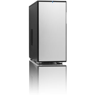 ATX Fractal Design Define R2-SI Midi Tower o.NT Silber