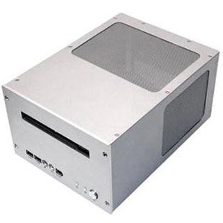 Silverstone Petit PT09S Desktop 120 Watt silber