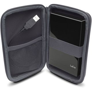 LaCie Cozy 3.5 (Sam Hecht) HD Disk Bag Grau
