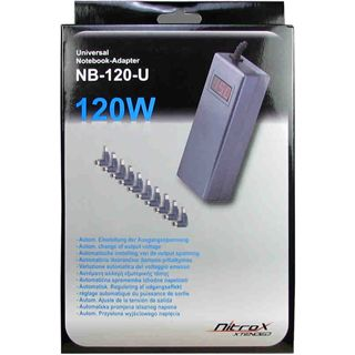 Inter-Tech Notebook Adapter CobaNitrox NB-120-U