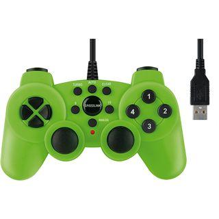 Speedlink SL-6535-SGN Strike2 Gaming Pad grün