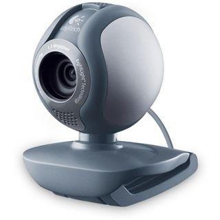 Logitech Web Kamera B500 1.3 MPixel 1280x1024 Grau/Silber USB 2.0