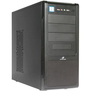 ATX Cooltek K-Series K4 Midi Tower o.NT Schwarz