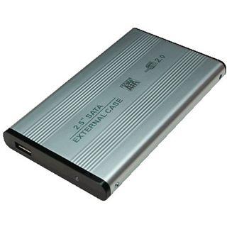 "LogiLink UA0041A 2.5"" (6,35cm) USB 2.0 silber"