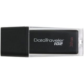 32 GB Kingston DataTraveler 102 schwarz USB 2.0