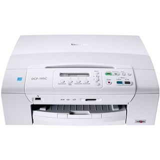 Brother DCP-195C Tinte Drucken/Scannen/Kopieren USB 2.0