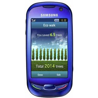 Samsung S7550 Blue Earth ocean-blue