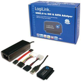 """LogiLink USB 2.0 SATA/IDE Adapter für 2.5"""" und 3.5"""""""