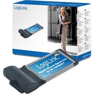 LogiLink Netzwerkkarte PC0035 1 Port 10/100/1000Port