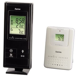 Hama Elektronische Wetterstation EWS 170, Schwarz